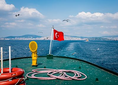 I changed my mind in Istanbul - by Ruth McAllister Kemp