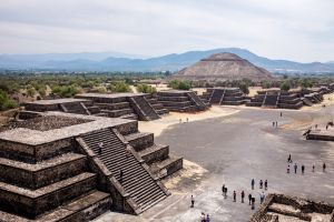 Ancient, minor and future impacts - Mexico by Ruth McAllister Kemp